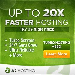 A2Hosting turbo